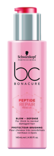 BC Bonacure Peptide Repair Rescue Blow-Defense