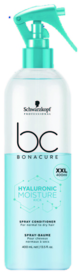 BC Hyaluronic Moisture Kick Spray Conditioner XXL 400ml