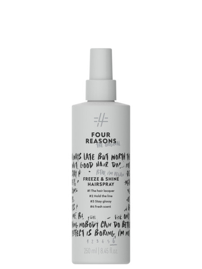 Four Reasons Freeze & Shine Hairspray 250ml