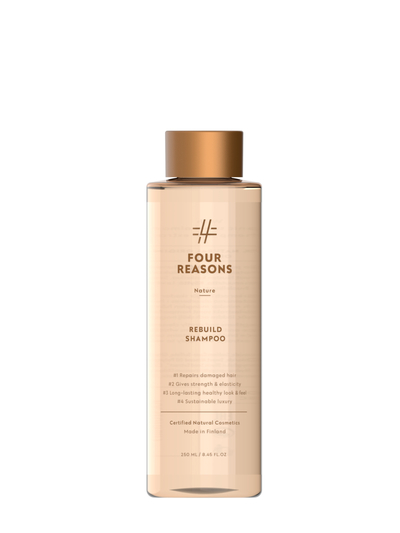 Four Reasons Nature Rebuild Shampoo 250ml