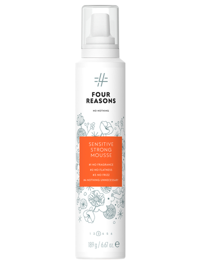 Four Reasons No Nothing Sensitive Strong Mousse 200ml