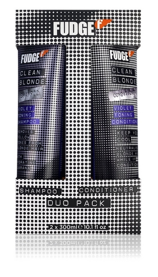 Fudge Clean Blonde Violet Toning sh+ha Pakkaus 300ml+300ml