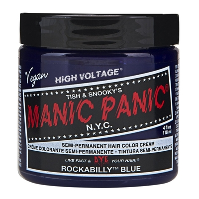 Manic Panic High Voltage -suoraväri 118ml Rockabilly Blue