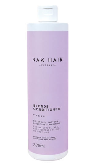 NAK HAIR Blonde Conditioner 375ml