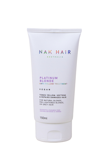 NAK HAIR Platinum Blonde Anti-Yellow Treatment 150ml
