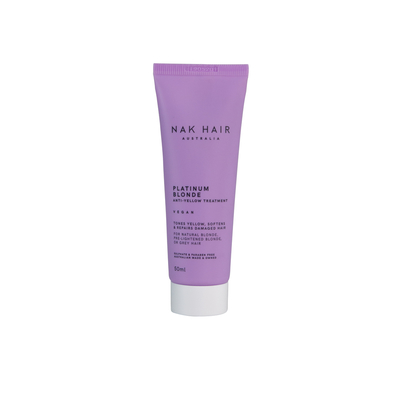 NAK HAIR Platinum Blonde Anti-Yellow Treatment 50ml MINI