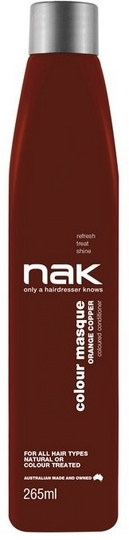 Nak Colour Masque Orange Copper 265ml
