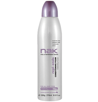 Nak Repl.Ends Conditioning Foam 270ml