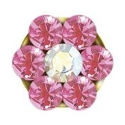 Studex Sensitive Korvakorut Gold Plated Baby Daisy Oct Rose Crystal 3mm
