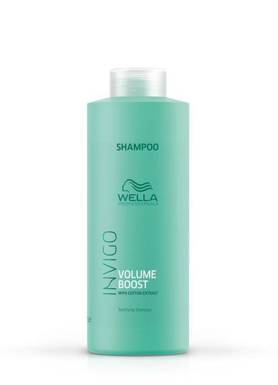 Wella Invigo Volume Boost Shampoo 1l