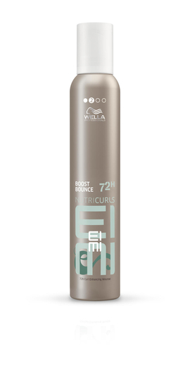 Wella Nutricurls Boost Bounce 72H Curl Enhancing Mousse 300ml